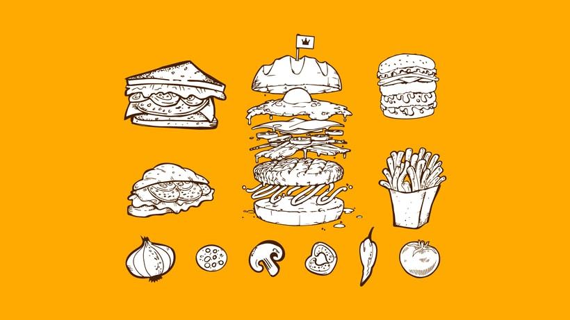 "Domo ""Burgers & Sandwiches"" 2"