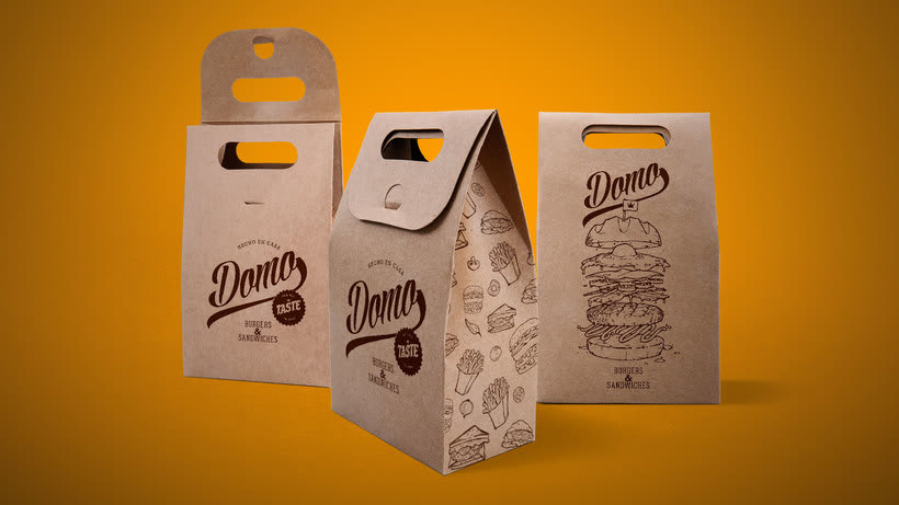 "Domo ""Burgers & Sandwiches"" 5"