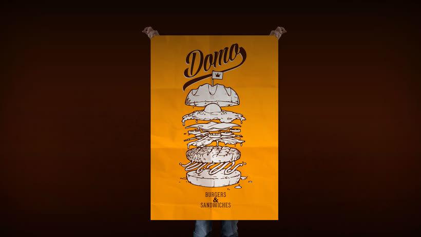 "Domo ""Burgers & Sandwiches"" 6"