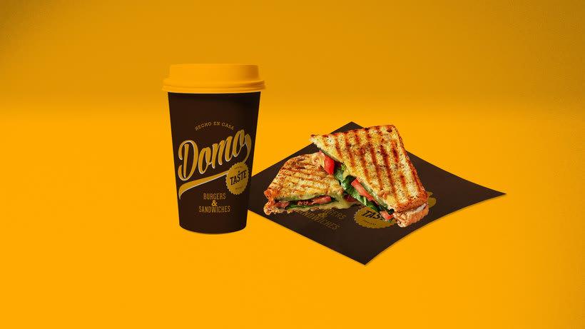 "Domo ""Burgers & Sandwiches"" 9"