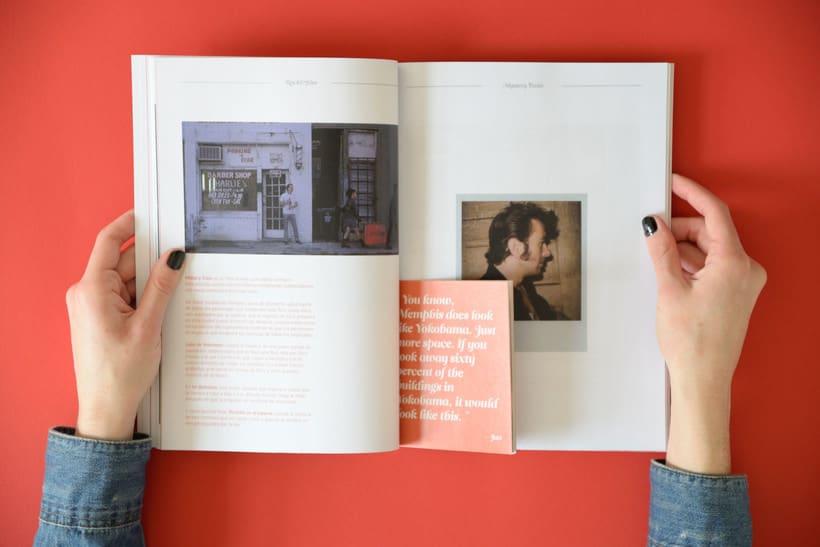 Mi Proyecto del curso  Introducción al Diseño Editorial 8