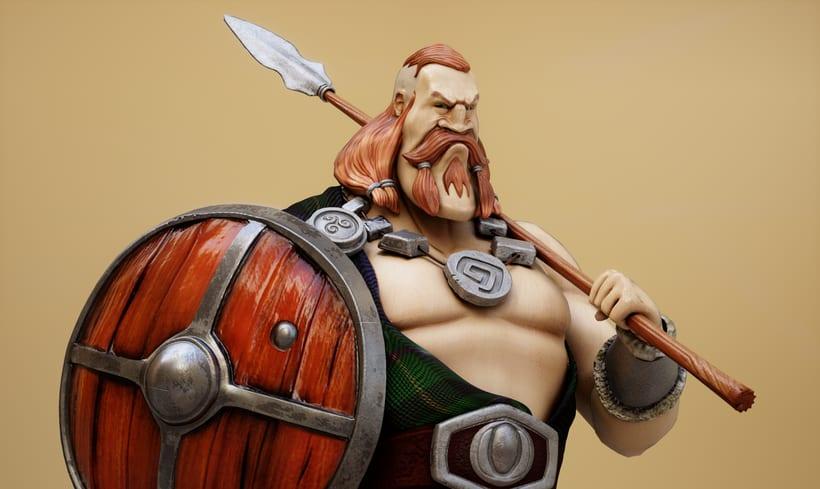 Scottish Warrior -1