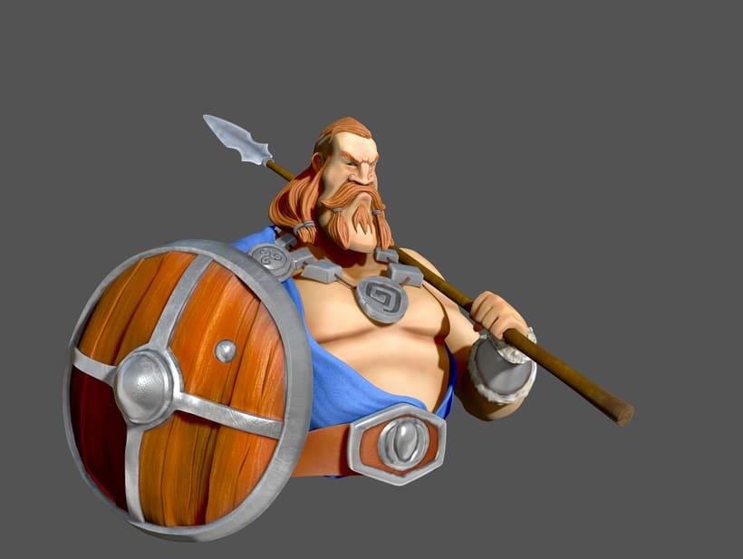Scottish Warrior 1