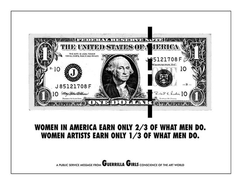 Guerrilla Girls y la igualdad en el arte 7