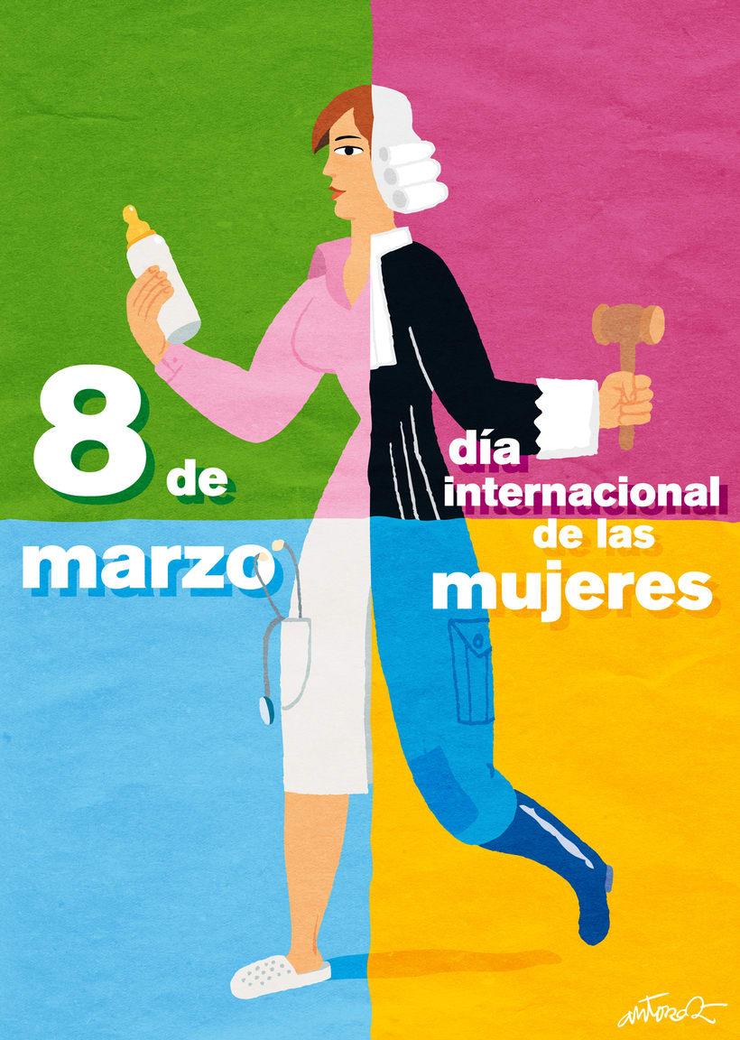 8 de marzo, día internacional de las mujeres -1