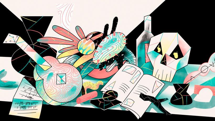 'Art is Theft' o cómo nacen las ideas según Daniel Cordero 14