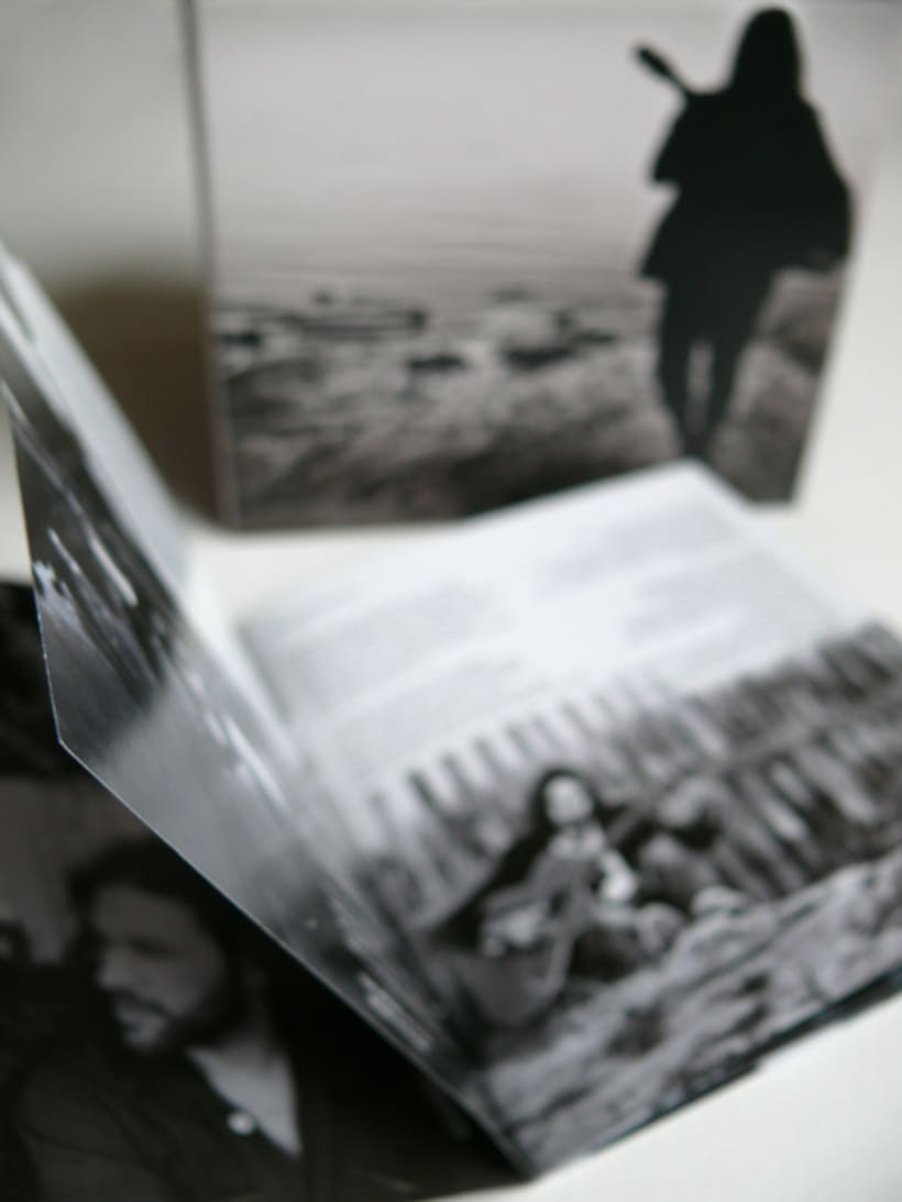 Maquetación y Diseño disco de Andrés Suárez 1