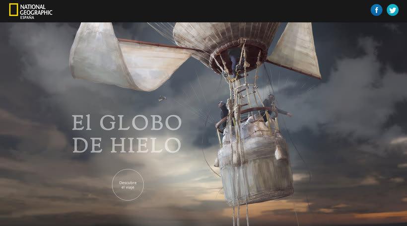 Un paseo en globo por el arte de la infografía con AlMü 1