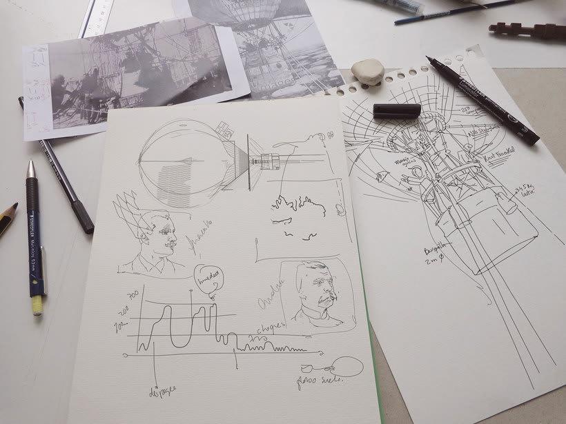 Un paseo en globo por el arte de la infografía con AlMü 5