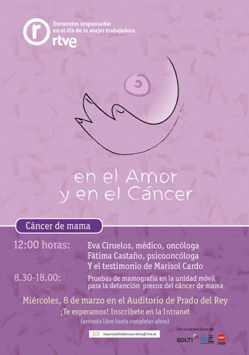 Día de la mujer: Encuentro cáncer de mama 0