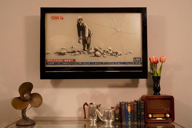"""El nuevo hotel de Banksy tiene """"las peores vistas del mundo"""" 6"""