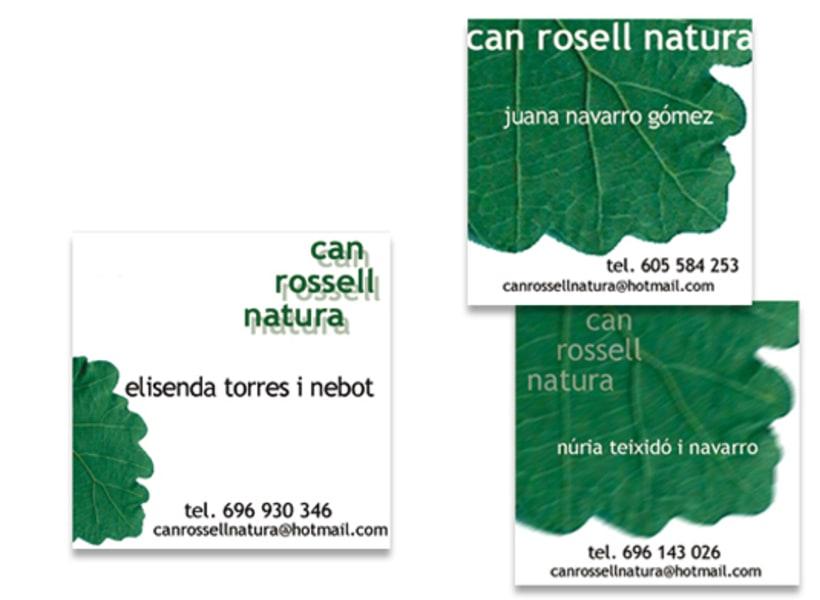 Imagen y web para Can Rossell Natura 0