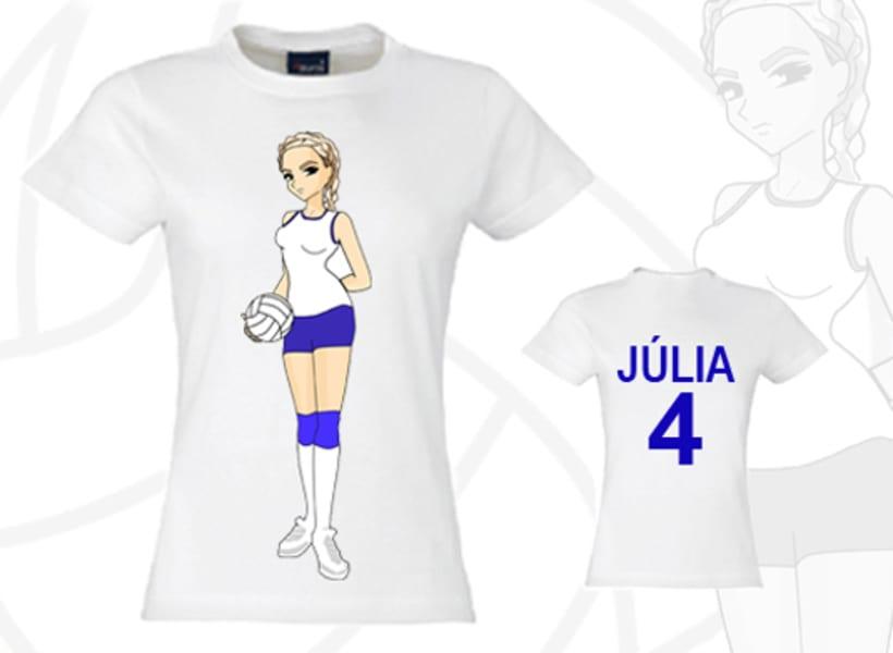 Ilustración de camisetas 1