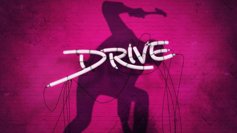 Drive - Letrero de neon  3