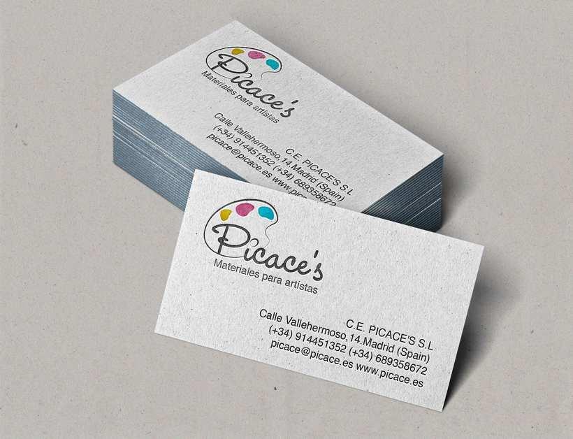 Logo y tarjeta para Picace's 0