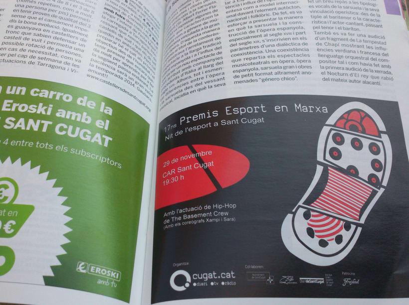 17ns premis Esport en Marxa - nit de l'esport a Sant Cugat 1