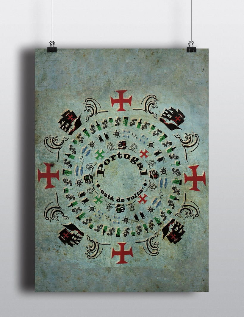 Cartel sobre la cultura de Portugal -1
