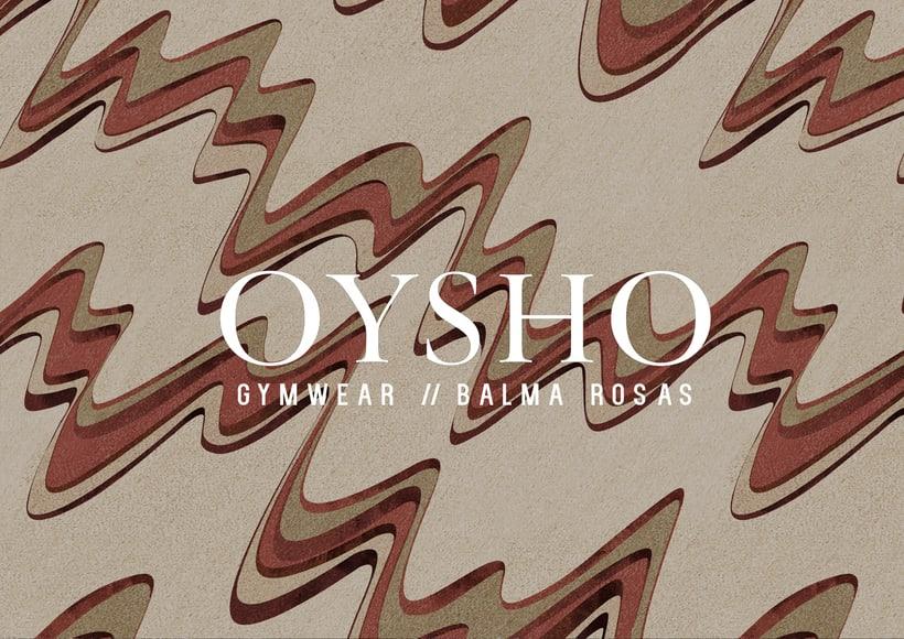 ss17 Oysho gymwear project 0