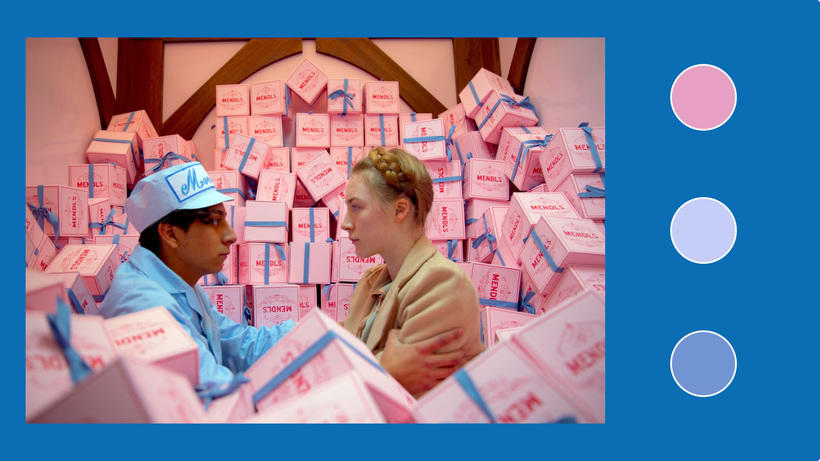 The Grand Hotel Budapest - Motion Graphic 1