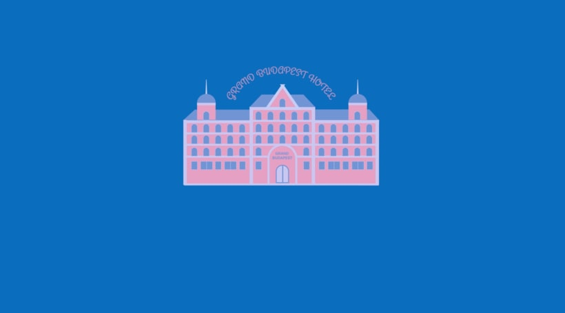 The Grand Hotel Budapest - Motion Graphic 6