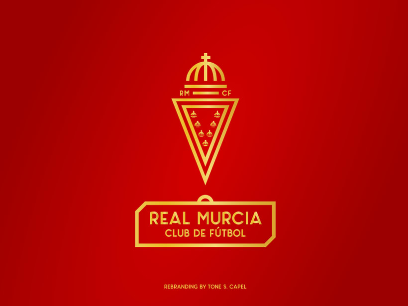 Real Murcia - Rebranding -1