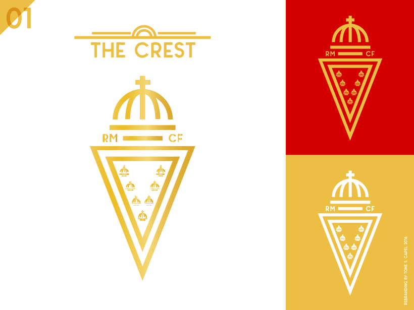 Real Murcia - Rebranding 0