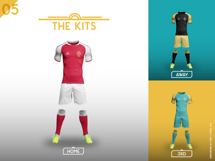 Real Murcia - Rebranding 3