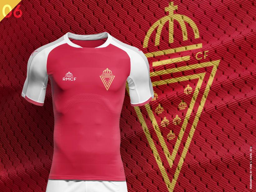 Real Murcia - Rebranding 4