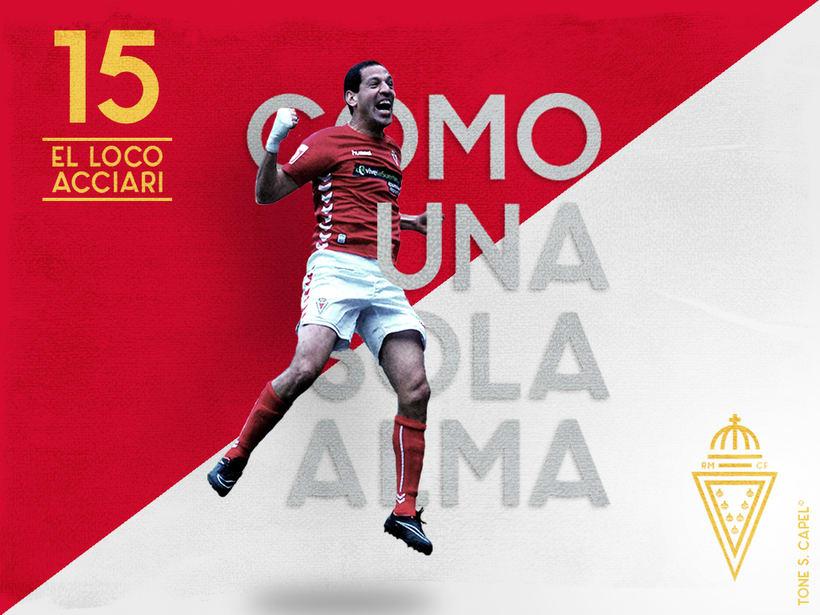 Real Murcia - Rebranding 5