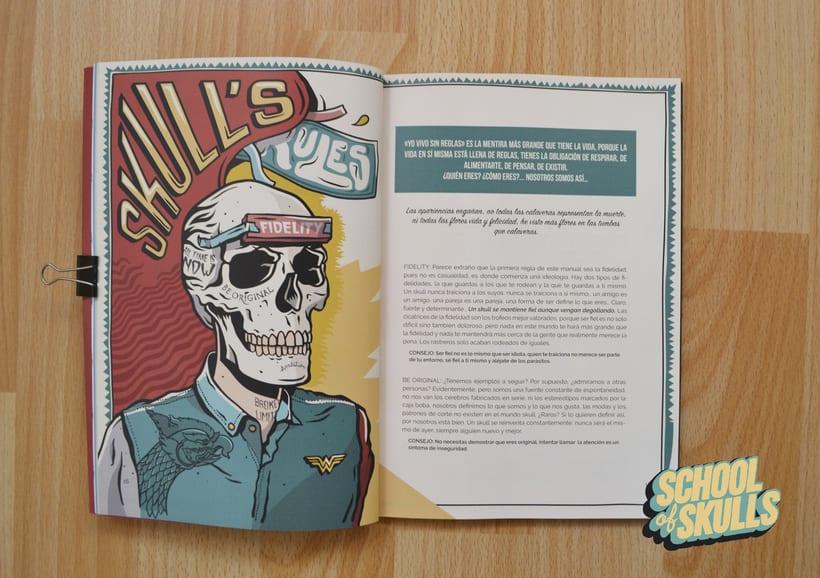 """""""SCHOOL of SKULLS"""" Guía Básica 5"""