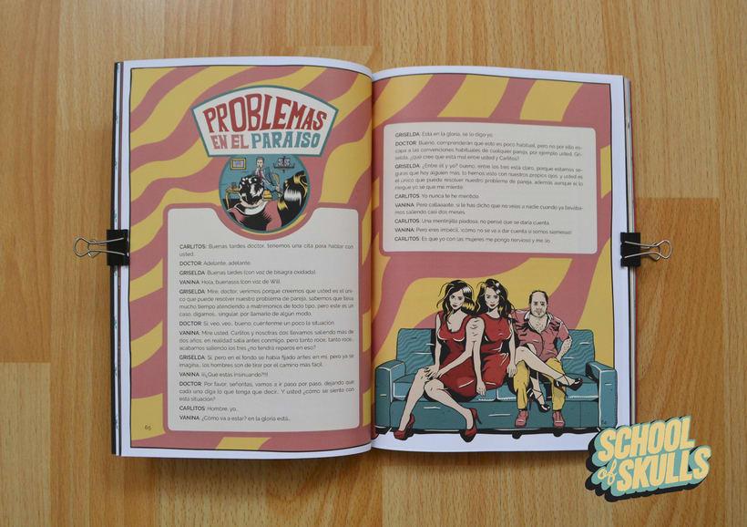 """""""SCHOOL of SKULLS"""" Guía Básica 7"""