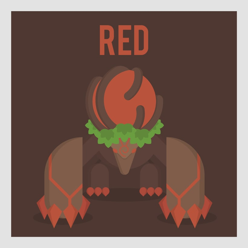 League of Legends Monsters: Red buff -1