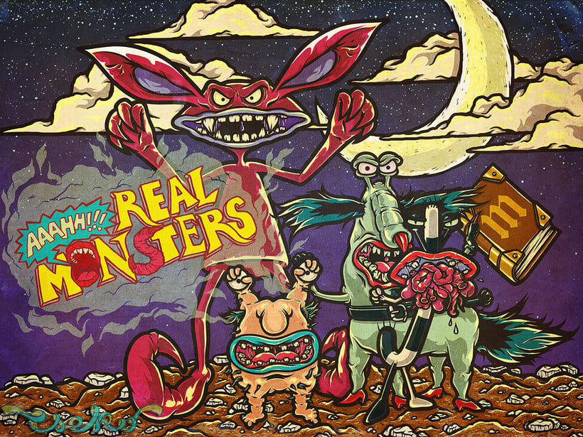 REAL MONSTERS 6