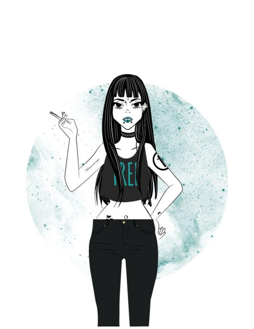 Bad girl millenial -1