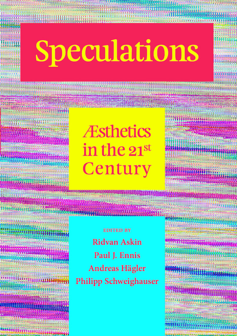 "Imagen de portada para el libro ""Speculations V: Æsthetics in the 21st Century». 0"
