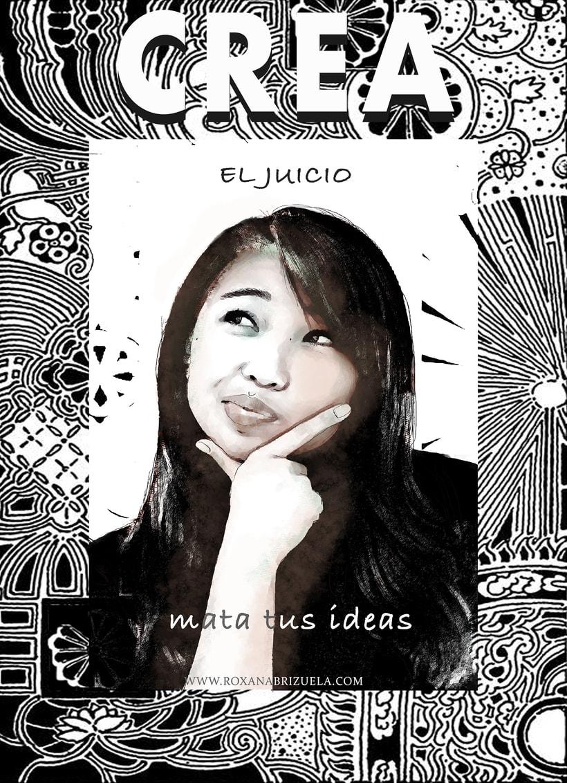 Carteles: CREA, Los Principios de la Creatividad. # 1 La censura rompe tu confianza 1