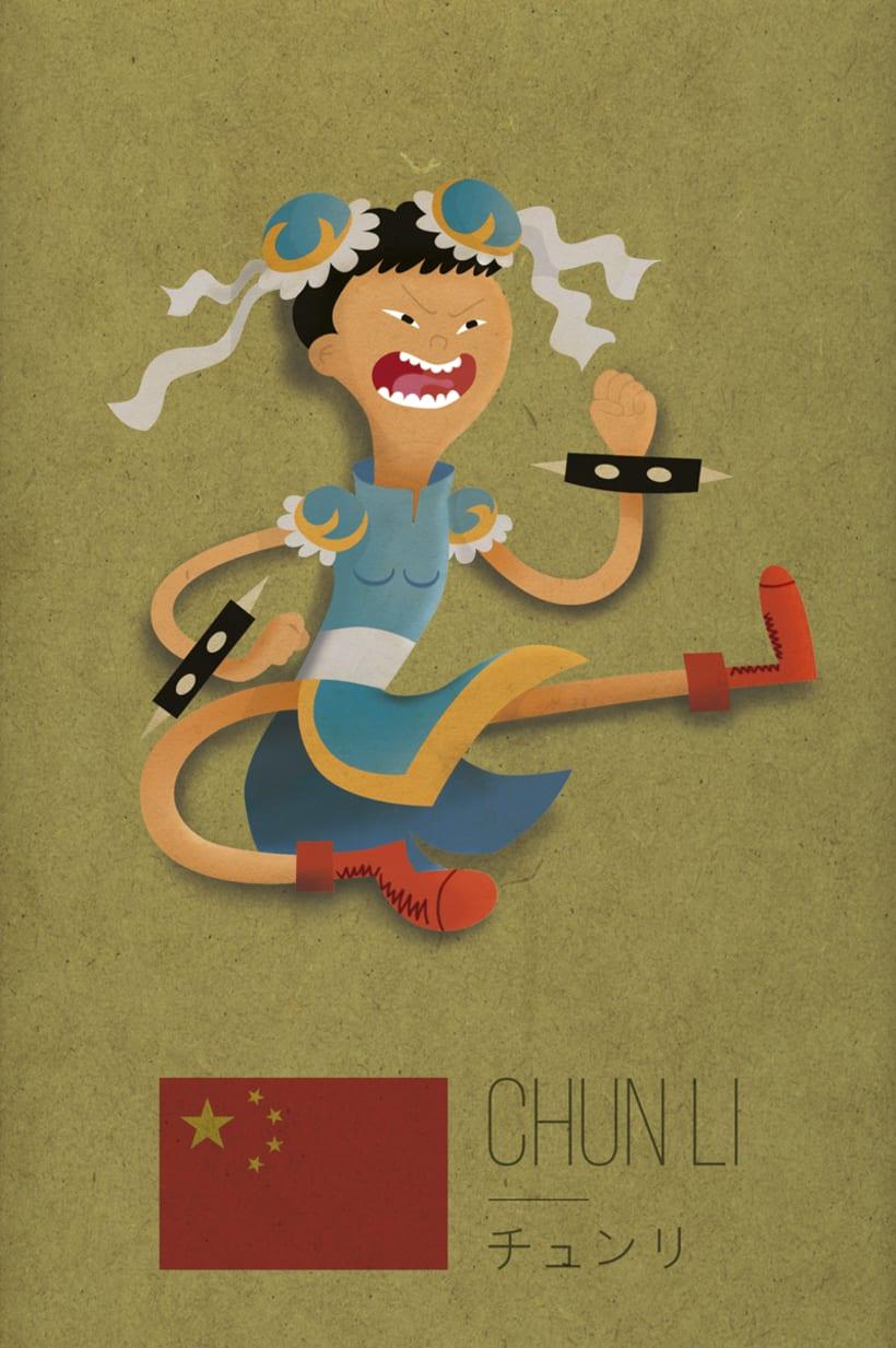 Ilustración Chun Li 4