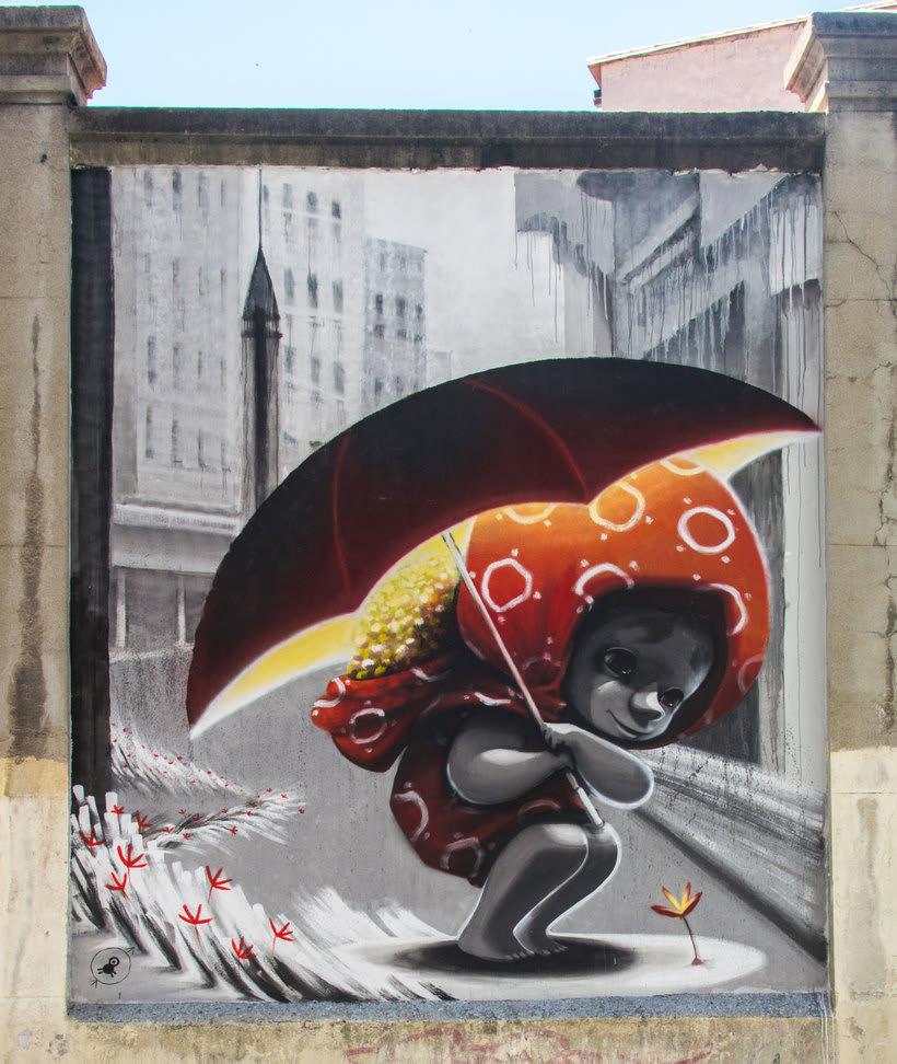 Guía del arte urbano de Madrid 15