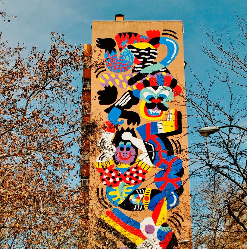 Guía del arte urbano de Madrid 19