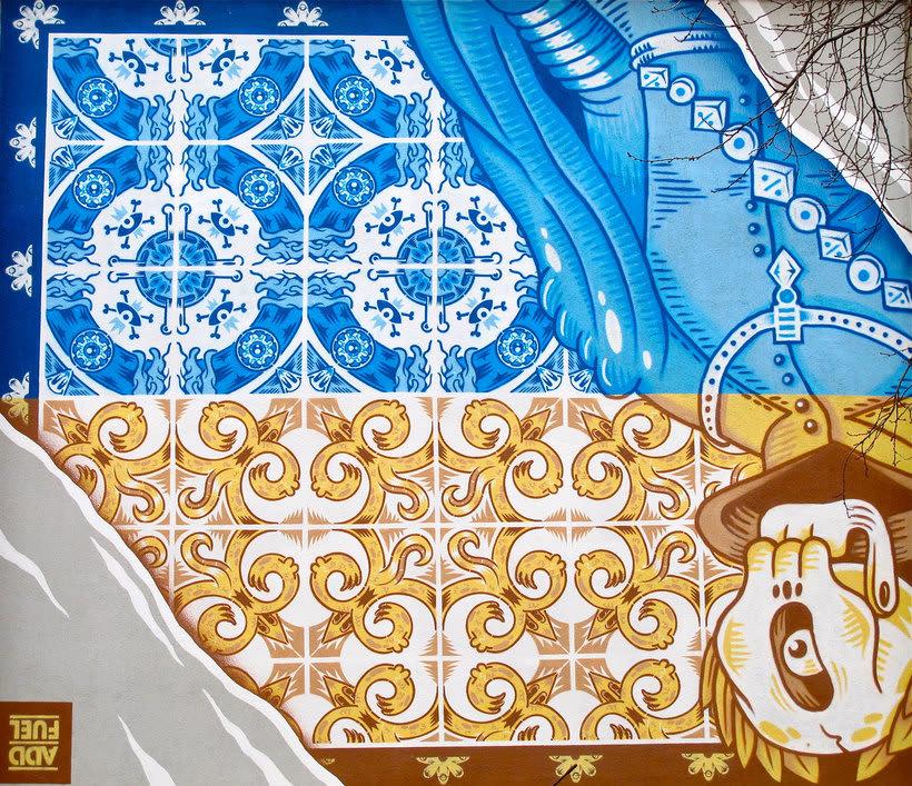 Guía del arte urbano de Madrid 17