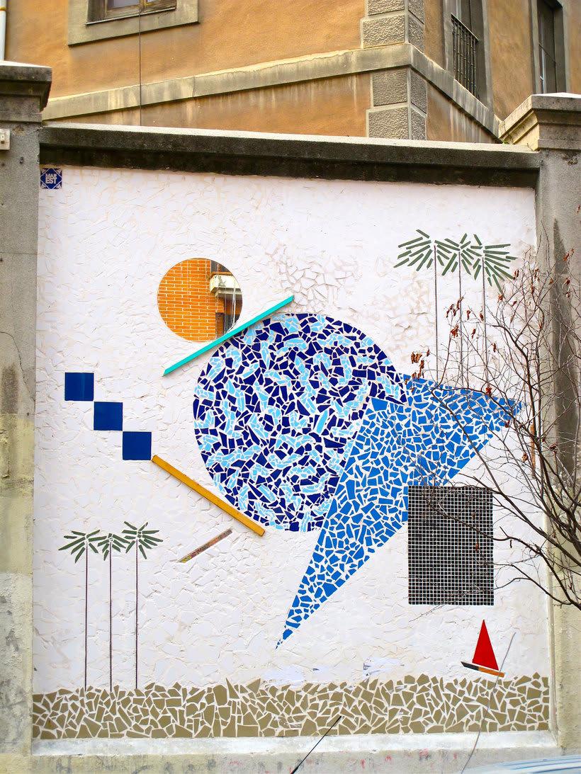 Guía del arte urbano de Madrid 21