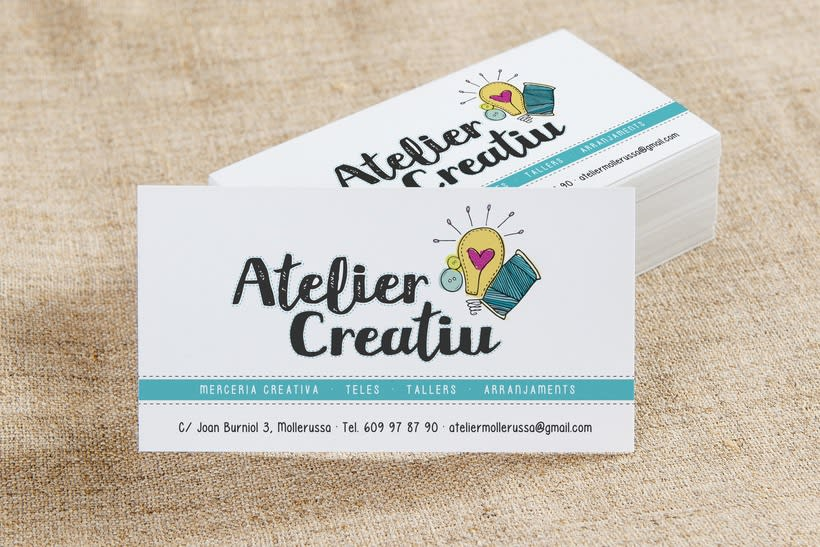 Atelier Creatiu / Imagen corporativa 0