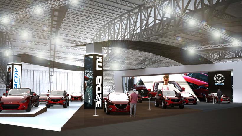 Concurso stand Mazda -1