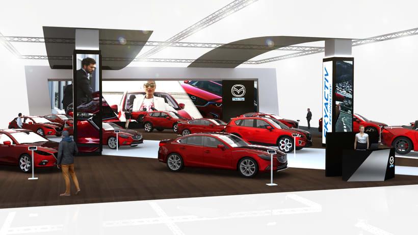 Concurso stand Mazda 0