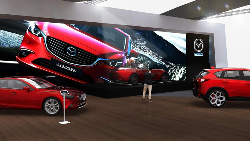 Concurso stand Mazda 1