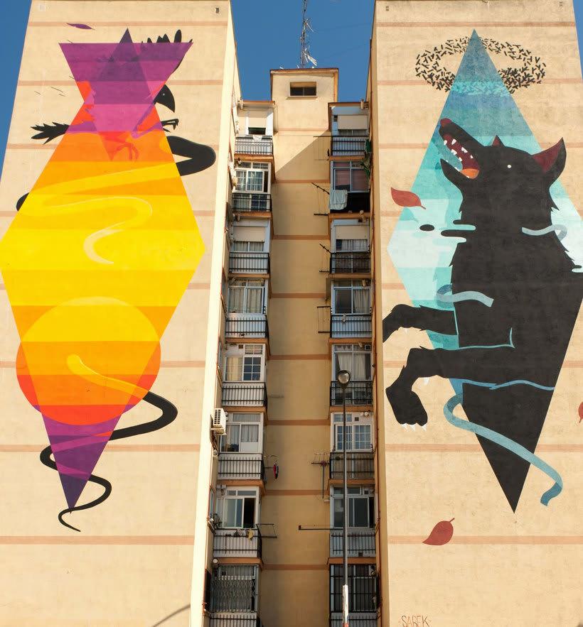 Guía del arte urbano de Madrid 25