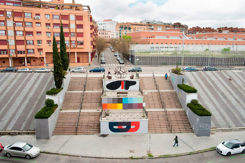 Guía del arte urbano de Madrid 33