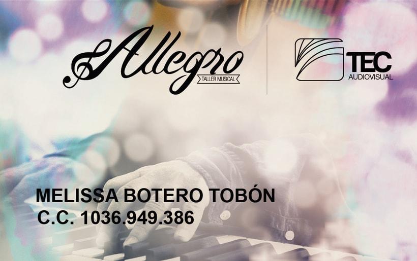 Práctica 2 - Allegro Taller Musical 3