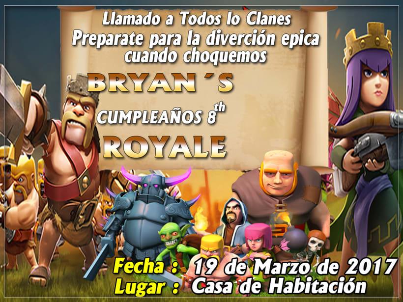 clash of clans birthday  -1