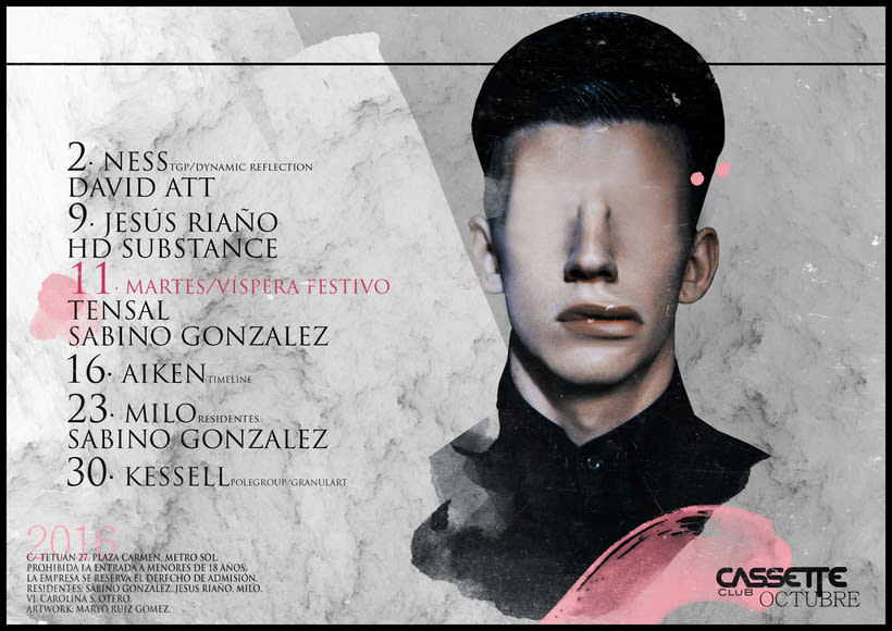 Cassette Club · Flyers · 1